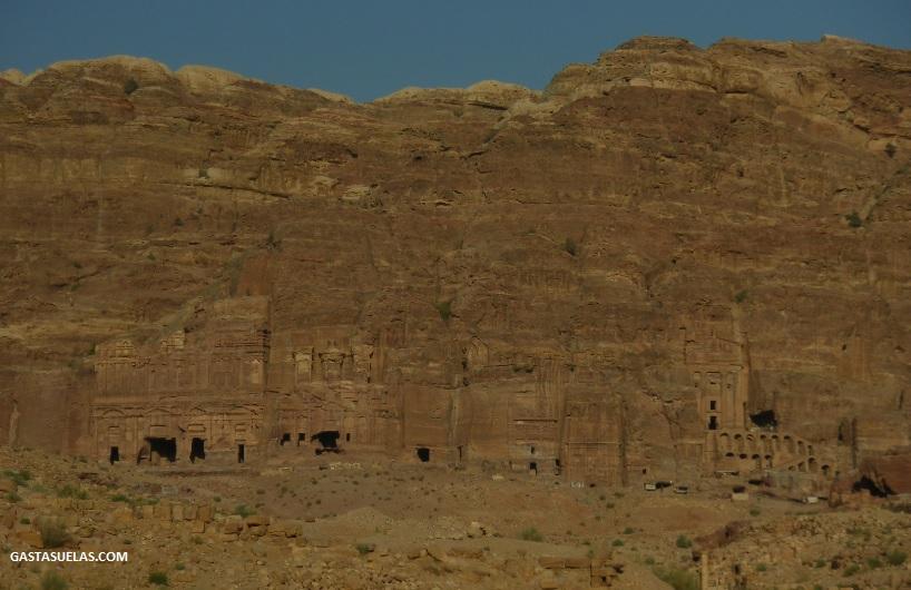 Tumbas Reales en Petra (Jordania)