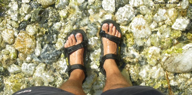 calzado senderismo acuatico
