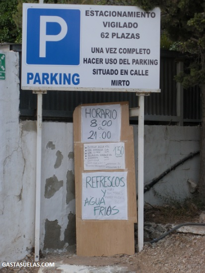 nerja chillar parking