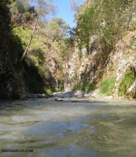 Río Chillar en Nerja (Málaga)