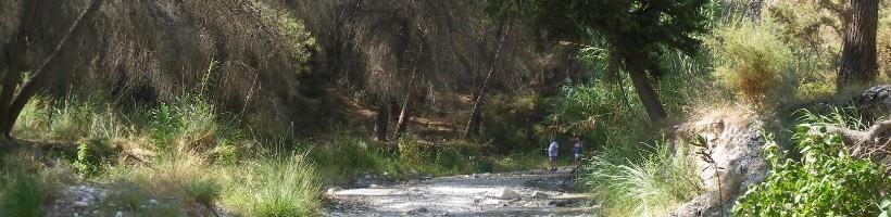 rio chillar senderismo