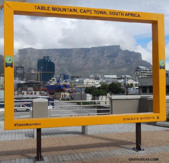 Vista de Table Mountain desde Ciudad del Cabo