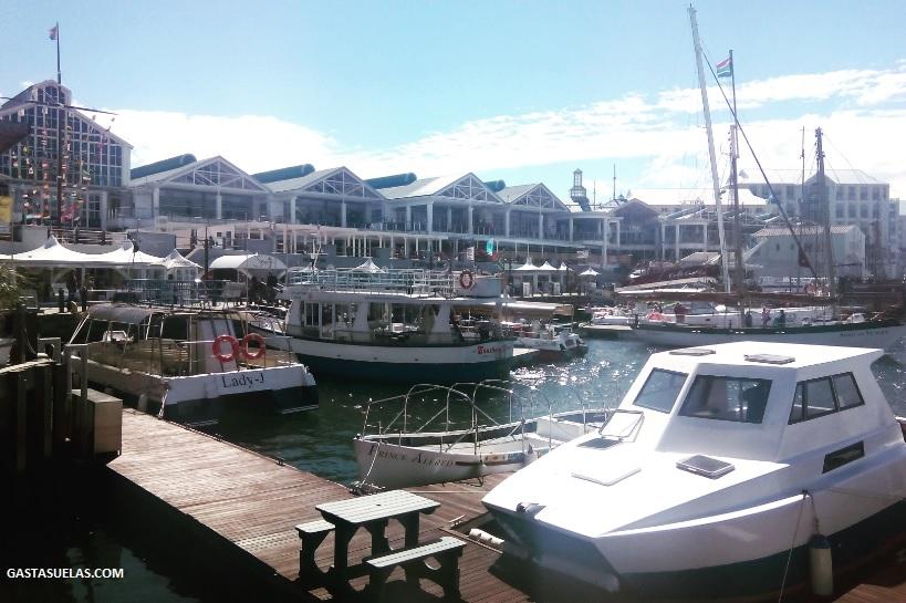 V & A Waterfront en Ciudad del Cabo (Sudáfrica)