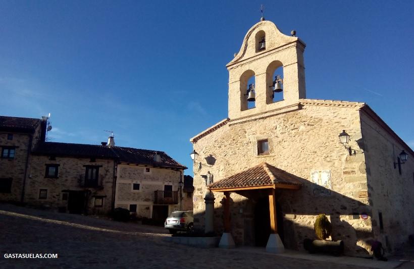 Iglesia de San Miguel Arcangel en La Hiruela (Madrid)