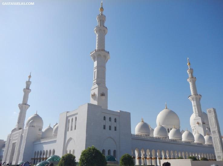 Abu Dhabi Mezquita Sheikh Zayed