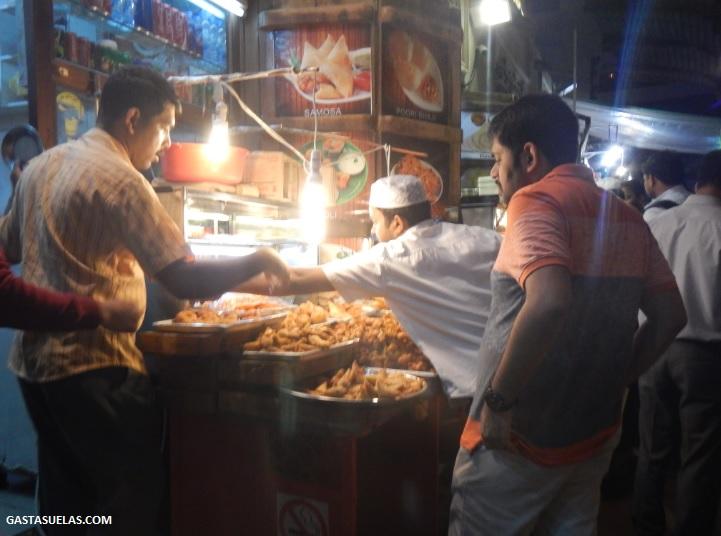 comida callejera Dubai