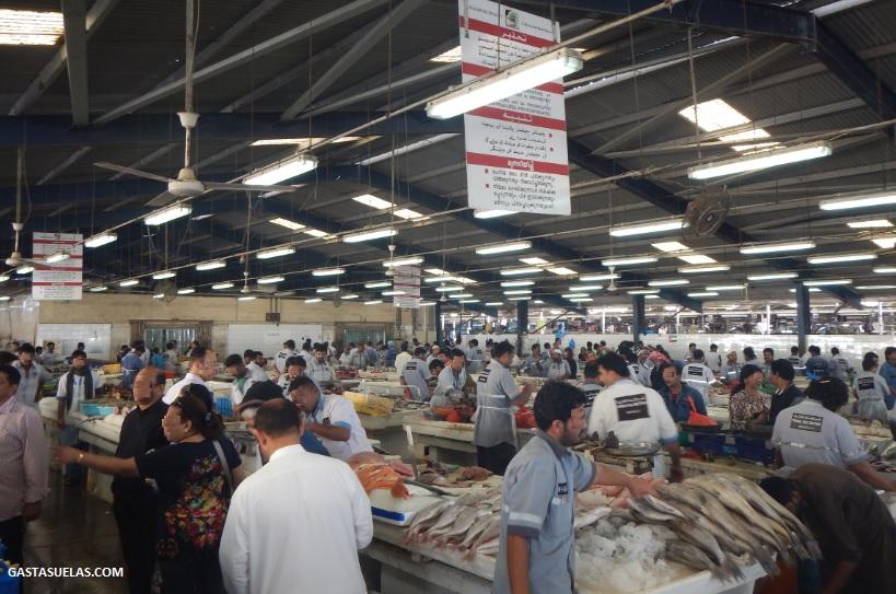 Dubai Lonja pescado