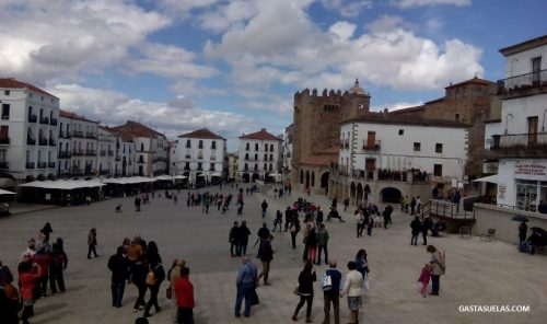 Plaza Mayor de Cáceres (Extremadura)