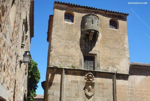 Detalle de la Casa del Sol (Cáceres)