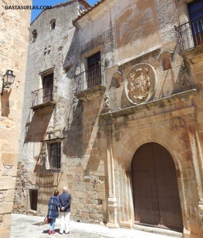 Centro histórico de Cáceres (Extremadura)