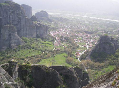 Vista de Kastraki (Meteora)