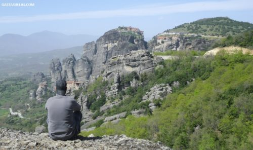 Vistas sobre Meteora (Grecia)