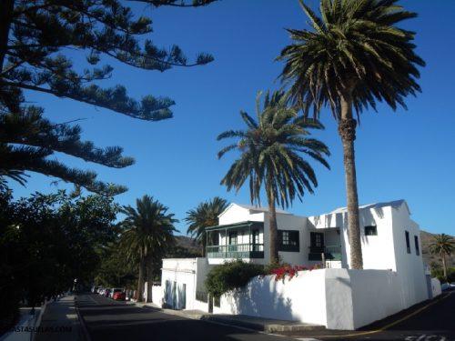 Casa típica en Haría (Lanzarote)