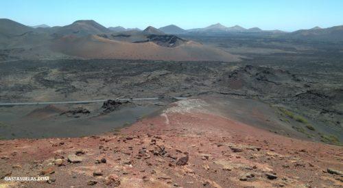 Paisajes de la Isla de Lanzarote (Canarias)