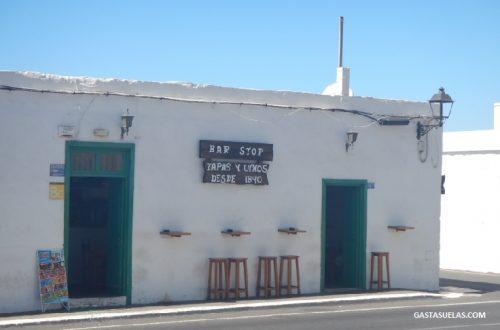 Bar Stop en Yaiza (Lanzarote)