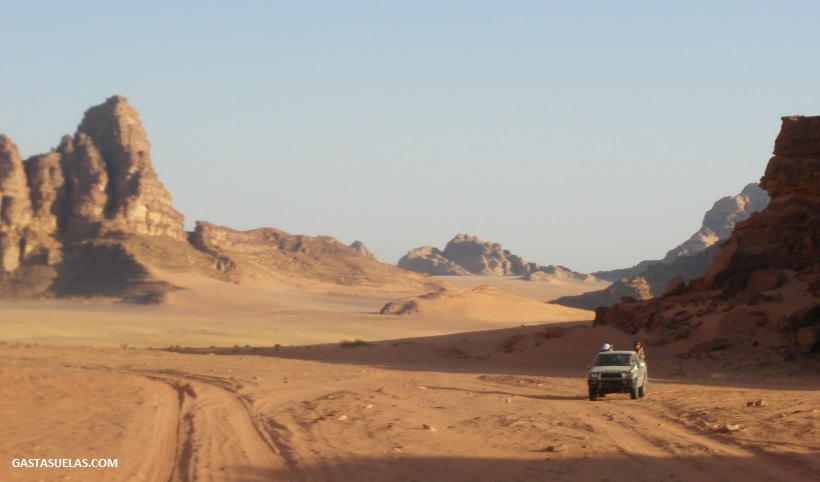 Viaje a Wadi Rum (Jordania): El desierto de otro planeta
