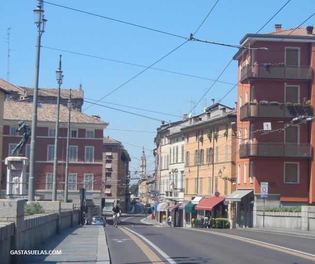 Zona de Tráfico Limitado (ZTL) en Parma (Italia)