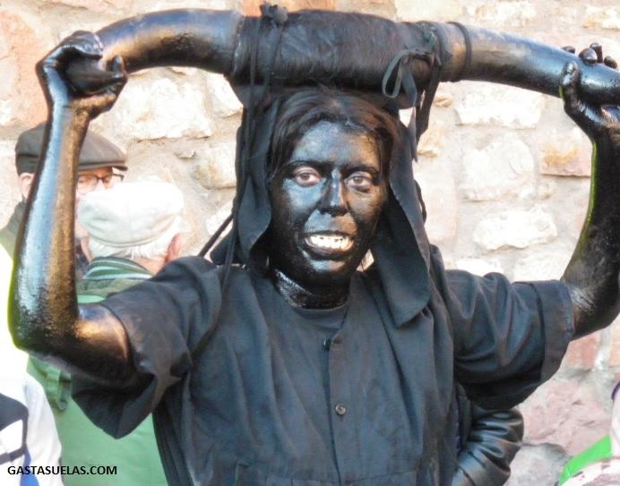 Diablo del Carnaval de Luzón (Guadalajara)