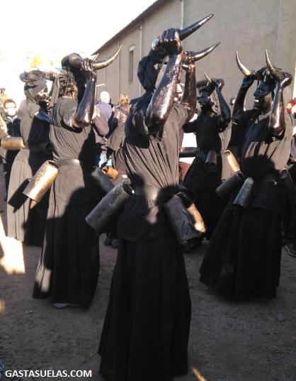 Diablos en el Carnaval de Luzón (Guadalajara)