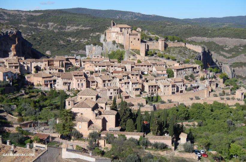 Alquezar (Huesca): Un pueblo con encanto para disfrutar de la Sierra de Guara