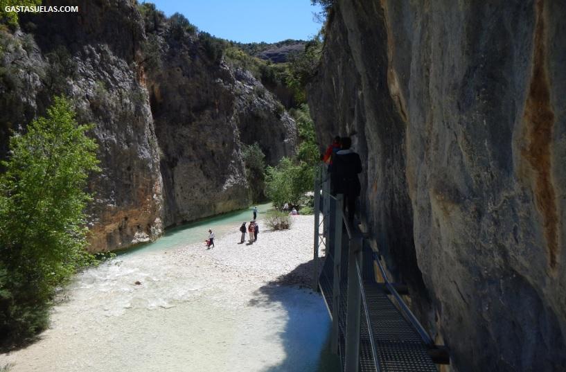 Ruta de las Pasarelas por el Cañón del río Vero (Alquezar)