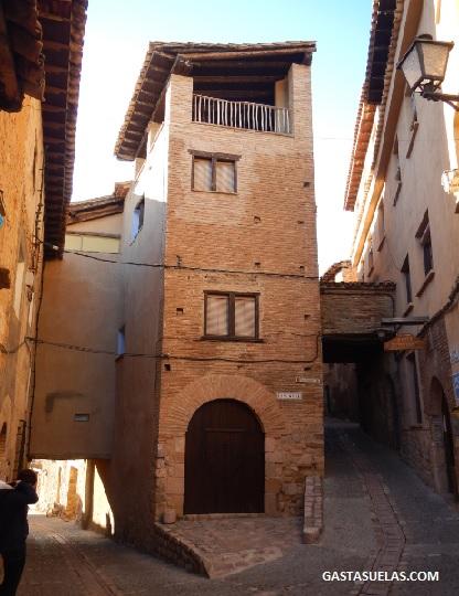 Centro histórico de Alquezar (Huesca)