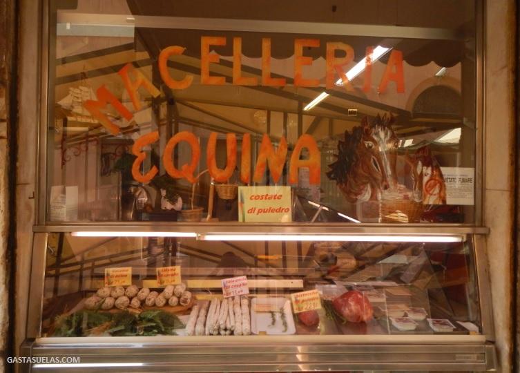 Carnicería de productos equinos (Venecia)