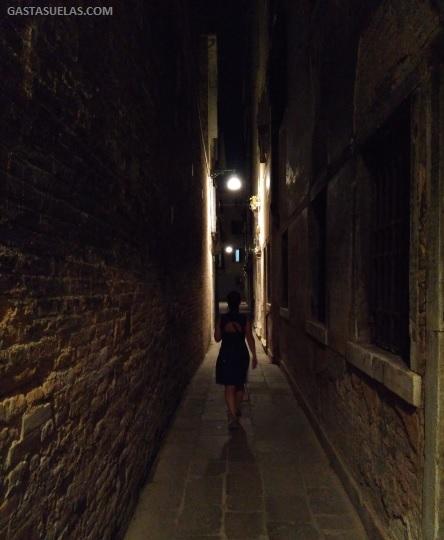 Paseo nocturno por Venecia
