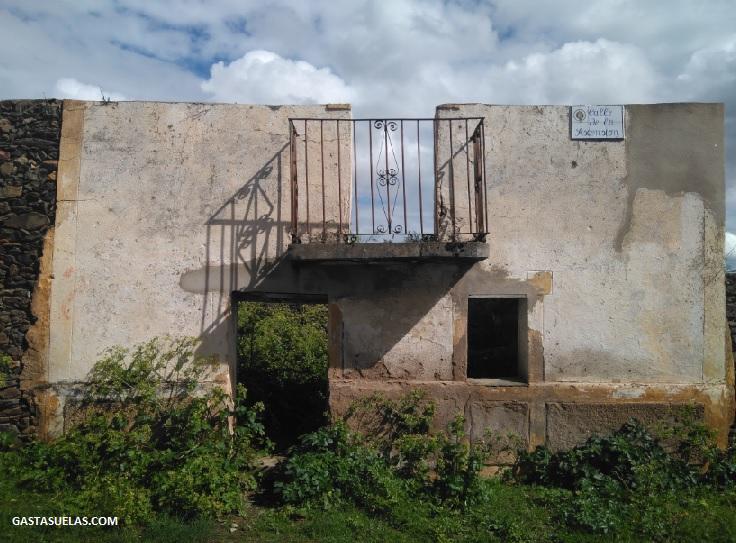 Casa abandonada en Ganadilla (Cáceres)