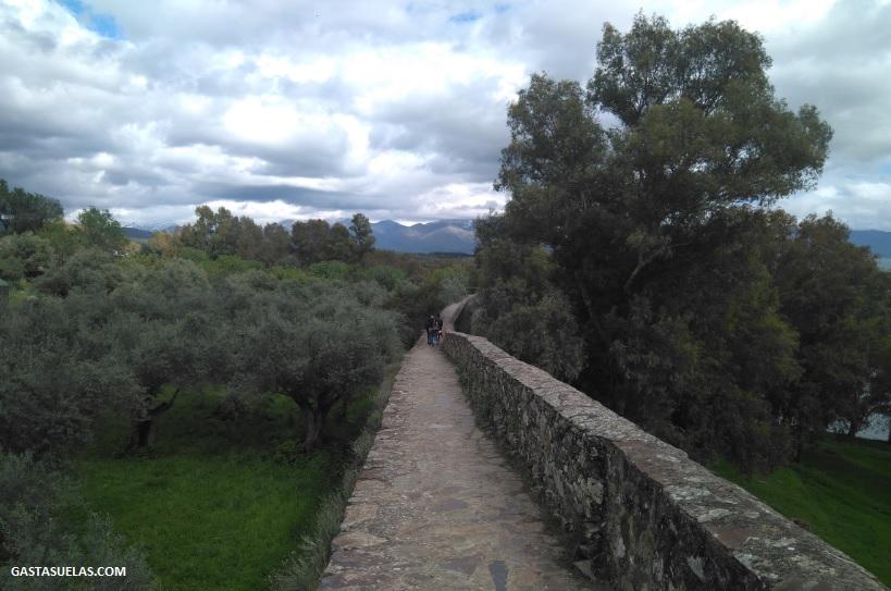 Muralla de Granadilla (Cáceres)
