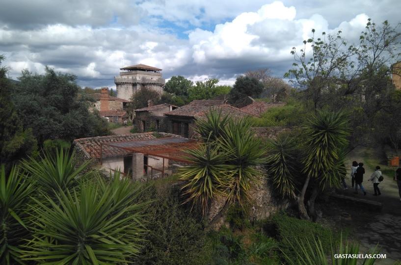 Vista de Granadilla (Cáceres)