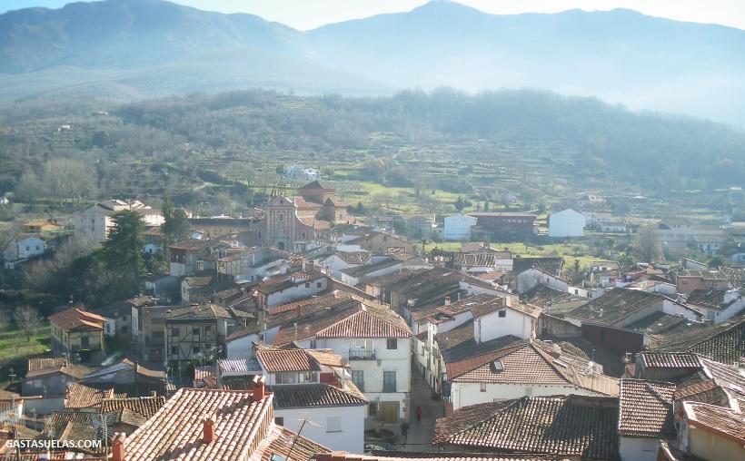 Hervás y paisajes del Valle de Ambroz (Cáceres)