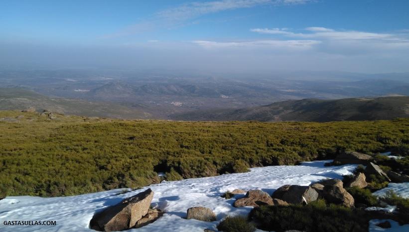 Vistas desde La Covatilla (La Hoya)