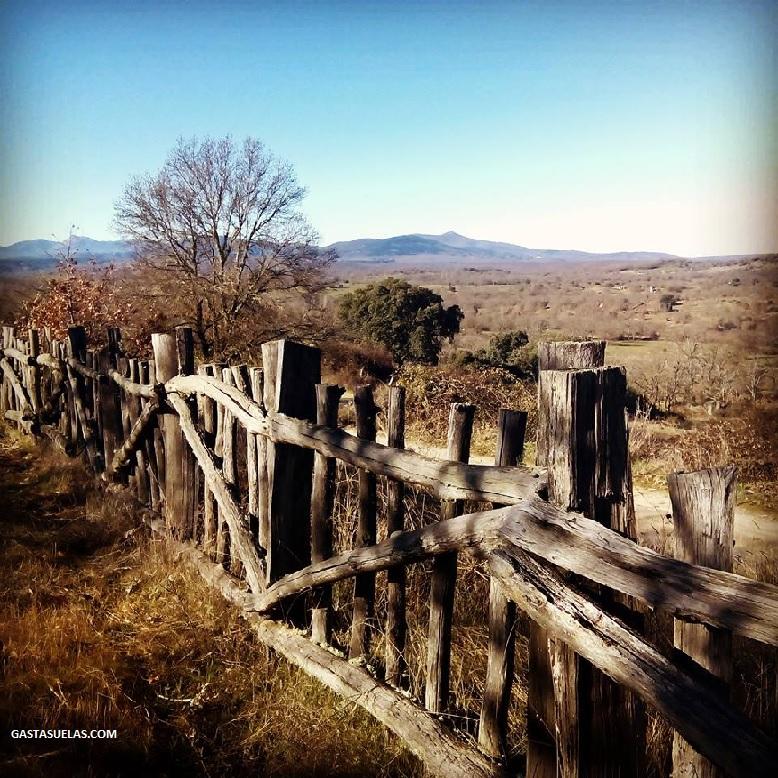 Vistas de la Sierra de Francia desde Los Santos (Salamanca)