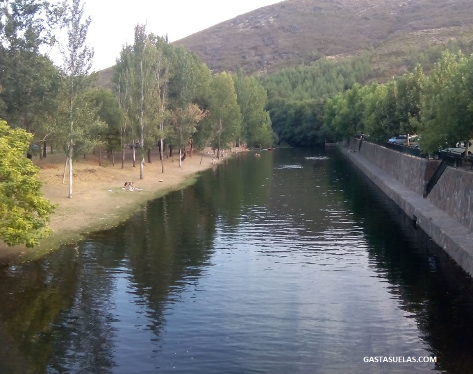 Zona de baño en el río Ladrillar (Riomalo de Abajo)
