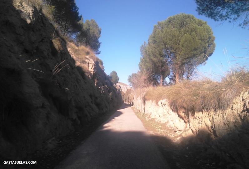 Camino al Risco de las Cuevas (Perales de Tajuña)