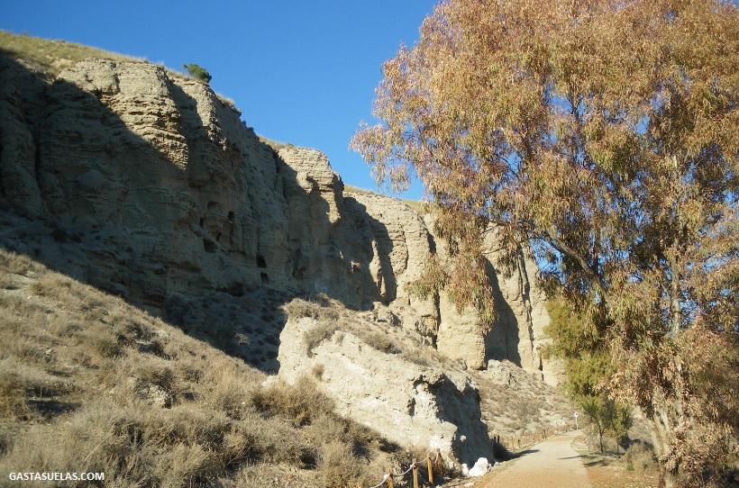 Acceso al Risco de las Cuevas (Perales de Tajuña)