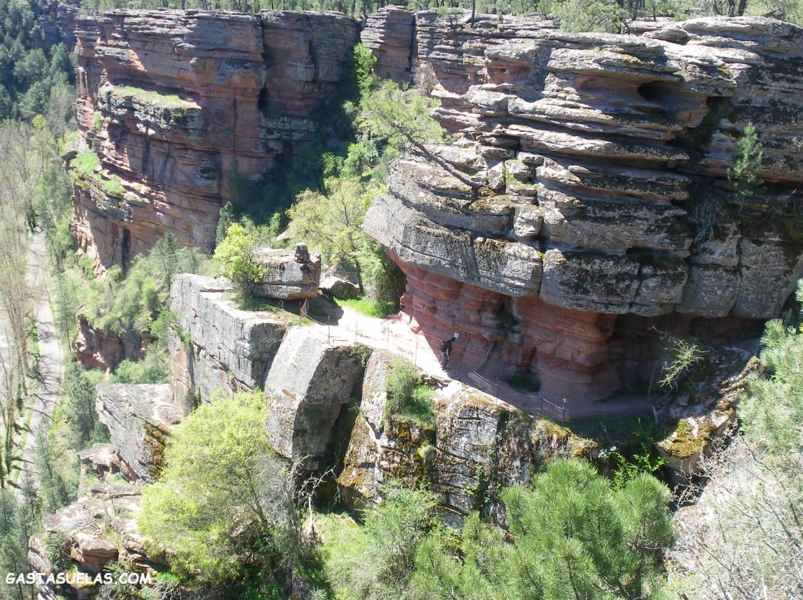 Barranco de la Hoz (Guadalajara): El milagro natural del Alto Tajo