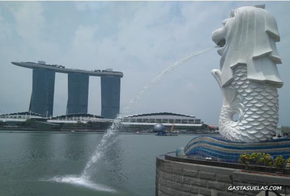 Merilion Singapur