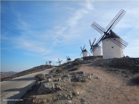 Molinos de viento en Consuegra (Toledo)