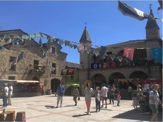 Plaza Mayor de Puebla de Sanabria (Zamora)