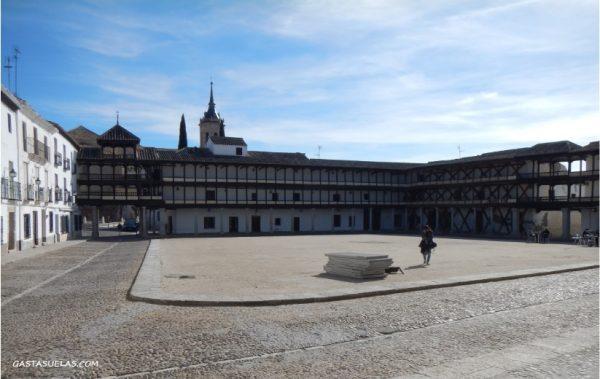 Plaza Mayor de Tembleque (Toledo)