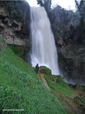 Catarata de Káranos en Edessa (Grecia)