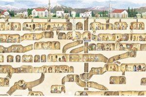 Derinkuyu (Turquía): La sorprendente ciudad subterranea de Capadocia