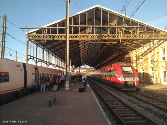 Estación de tren de Narbona (Narbonne)