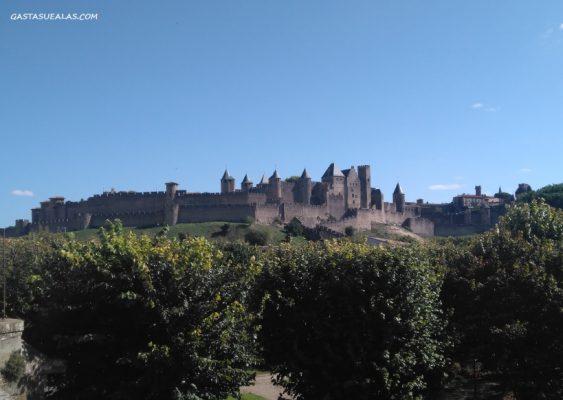 Ciudadela medieval de Carcasona (Carcassonne)