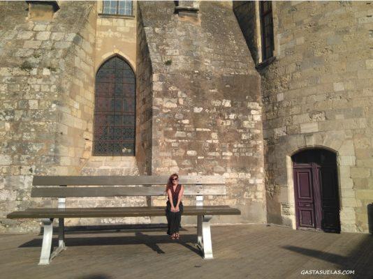 Banco XXL en la Terraza del Palacio Arzobispal (Narbona)