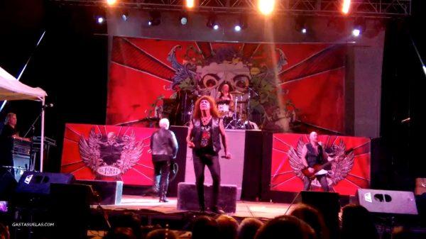 Concierto de Obús en el Festival Granito Rock (Los Santos)