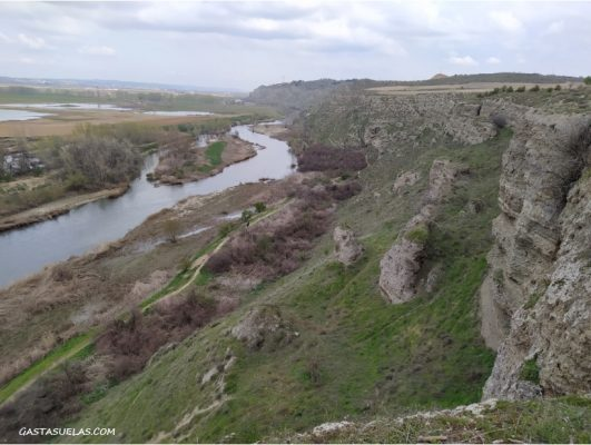 Cortados de Titulacia y río Jarama (Madrid)