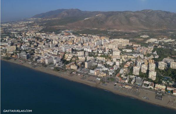 Playas en la Costa de Málaga
